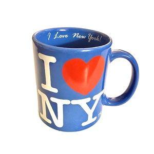 I ❤️ New York Ceramic Coffee Mug with Inscription